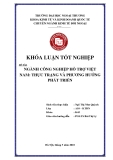Khóa luận tốt nghiệp: Ngành công nghiệp hỗ trợ Việt Nam: thực trạng và phương hướng phát triển