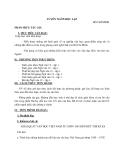 Giáo án Ngữ văn 12 tuần 2: Tuyên ngôn độc lập