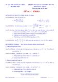 Đề kiểm tra HK2 Toán 11 (2013 - 2014) - Trường THPT Nguyễn Gia Thiều (Kèm đáp án)