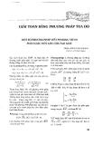 Chương 4: Giải toán bằng phương pháp tọa độ