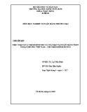Tiểu luận: Thực trạng và thẩm định cho vay dài hạn tại ngân hàng TMCP ngoại thương Việt Nam – chi nhánh Bình Dương
