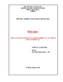 Tiểu luận ngân hàng: Cho vay kích cầu đối với các doanh nghiệp của các ngân hàng thương mại ở Việt Nam hiện nay