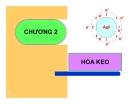 Bài giảng Hóa lý: Chương 2 - GV. Nguyễn Trọng Tăng