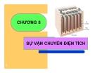 Bài giảng Hóa lý: Chương 5 - GV. Nguyễn Trọng Tăng