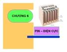 Bài giảng Hóa lý: Chương 6 - GV. Nguyễn Trọng Tăng
