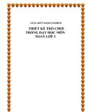 SKKN: Thiết kế trò chơi trong dạy học môn toán lớp 3