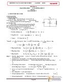 Chuyên đề Vật lý 12: Dao động điện từ
