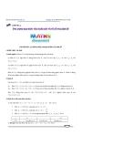 Chuyên đề 1: Sự đồng biến, nghịch biến của hàm số