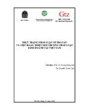 Đề tài: Thực trạng pháp luật về phá sản và việc hoàn thiện môi trường pháp luật kinh doanh tại Việt Nam
