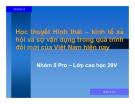 Tiểu luận: Học thuyết hình thái – kinh tế xã hội và sự vận dụng trong quá trình đổi mới của Việt Nam hiện nay