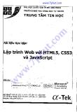 Tài liệu Lập trình Web với HTML5, CSS3 và JavaScript
