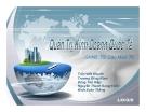 Bài thuyết trình Quản trị kinh doanh quốc tế: Phương thức thâm nhập thị trường quốc tế