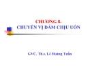 Bài giảng Sức bền vật liệu: Chương 8 - GVC.ThS. Lê Hoàng Tuấn
