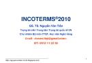 Bài giảng Thanh toán quốc tế trong ngoại thương: Bài 3 - GS.TS. Nguyễn Văn Tiến