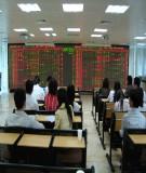 Tiểu luận: Giải pháp rút ngắn quy trình giao dịch tại sàn giao dịch chứng khoán TPHCM