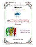 Tiểu luận: Giải pháp phát triển dịch vụ thanh toán quốc tế tại các ngân hàng thương mại Việt Nam