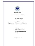 Tiểu luận: Lợi nhuận và cấu trúc tài chính