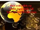 Tiểu luận: Phát triển dịch vụ thanh toán quốc tế Tại các NHTM Việt Nam