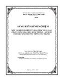 SKKN: Một vài kinh nghiệm và giải pháp nâng cao chất lượng Giáo Dục Quốc Phòng – An Ninh cho học sinh trường THPT Long Thành