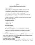 Giáo án Ngữ văn 12 tuần 4: Nghị luận về một hiện tượng đời sống