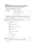 Toán lượng giác - Chương 7: Phương trình lượng giác chứa căn và phương trình lượng giác chứa giá trị tuyệt đối