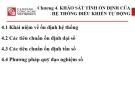 Bài giảng Lý thuyết điều khiển tự động: Chương 4