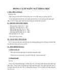 Giáo án Ngữ văn 12 tuần 5 bài: Phong cách Ngôn ngữ Khoa học