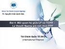 Bài giảng Tài chính quốc tế: Bài 4 - TS. Nguyễn Khắc Quốc Bảo