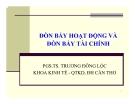 Bài giảng Tài chính doanh nghiệp: Chương 8 - PGS.TS. Trương Đông Lộc