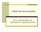 Bài giảng Tài chính doanh nghiệp: Chương 9 - PGS.TS. Trương Đông Lộc