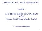 Bài giảng Đầu tư tài chính: Chương 5 - TS. Phạm Hữu Hồng Thái