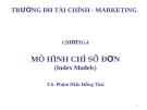 Bài giảng Đầu tư tài chính: Chương 4 - TS. Phạm Hữu Hồng Thái