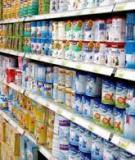 Báo cáo: Công nghệ sản xuất sữa bột
