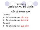 Bài giảng Quản trị học: Chương 6 - Phạm Văn Nam