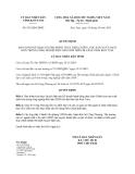 Quyết định 835/QĐ-UBND năm 2013