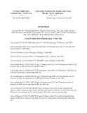 Quyết định 43/2013/QĐ-UBND tỉnh Bà Rịa-Vũng Tàu