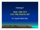 Bài giảng Triết học Mác-Lênin: Chương 5 - TS. Nguyễn Minh Tuấn