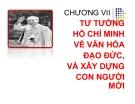 Bài giảng Tư tưởng Hồ Chí Minh: Chương 7 - ĐH Kinh tế