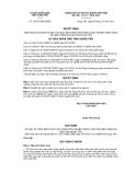 Quyết định 12/2013/QĐ-UBND tỉnh Hưng Yên