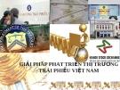 Thuyết trình trái phiếu: Giải pháp phát triển thị trường trái phiếu Việt Nam