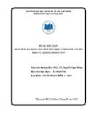 Tiểu luận: Phân tích tác động của thuế thu nhập cá nhân đối với thu nhập từ chuyển nhượng vốn
