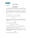 Ôn tập Toán Đại số tổ hợp chương 3: Chỉnh hợp