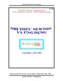 Nhị thức newton và ứng dụng - THPT Lê Hồng Phong
