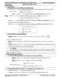 Chuyên đề: Giới hạn của hàm số và sự liên tục