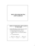 Bài giảng Đầu tư tài chính: Chương 3