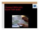Bài giảng Kiểm toán: Chương 4 - ĐH Kinh tế