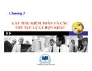 Bài giảng Kiểm toán: Chương 3 - ĐH Kinh tế