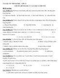 Tài liệu ôn thi ĐH chuyên đề: Polime và vật liệu lí thuyết