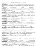 Tài liệu ôn thi ĐH chuyên đề Hidrocacbon lý thuyết