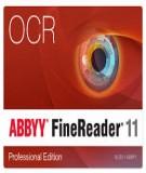 Tài liệu hướng dẫn sử dụng nhanh phần mềm nhận dạng ABBYY FineReader 11 Professional 11